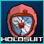 Blood Gnat Exterminator Helmet HOLO