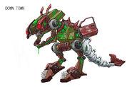 90.MOB Junk dinosaur