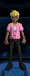 T-Shirt Princess Bubblegum Close-Up