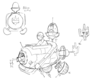 Time Cop Cruiser Concept Art