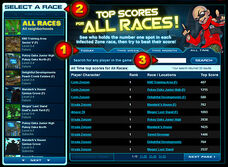 Leaderboard about highscore