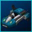Blue Dynamo Hovercar