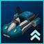 DX Blue Dynamo Hovercar
