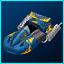 Megas XLR Hovercar Retro