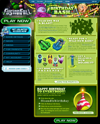 Birthday Bash News