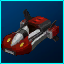 Red Dynamo Hovercar