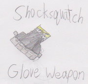Shocksquatch Weapon
