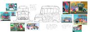 Foster Bus Hovercar Concept Art