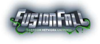 FusionFall logo (no planet)