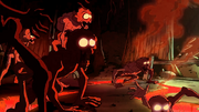 Flame Zombies