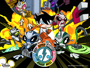 Super Robot Monkey Team Hyper Force Go!