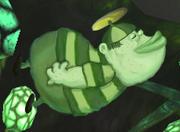 FusionFall ChalkZone Beanie Boy in Fusion Lair