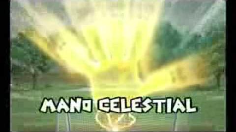 Inazuma eleven= mano celestial