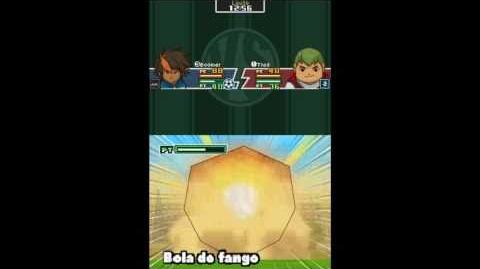 Inazuma eleven 1 DS español como conseguir bola de fango