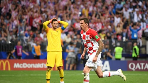 Francia - Croacia 2