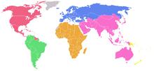 World Map FIFA