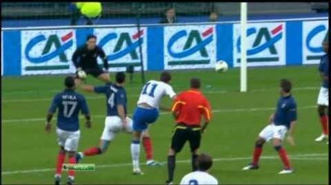 Сборная Франции вышла в финальную часть ЧЕ-2012