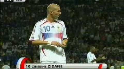 Zinedin Zidan. ЧМ по футболу 2006