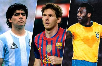 Messi-maradona-pele