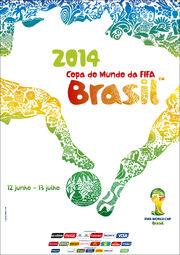 Pôster da Copa do Mundo de 2014