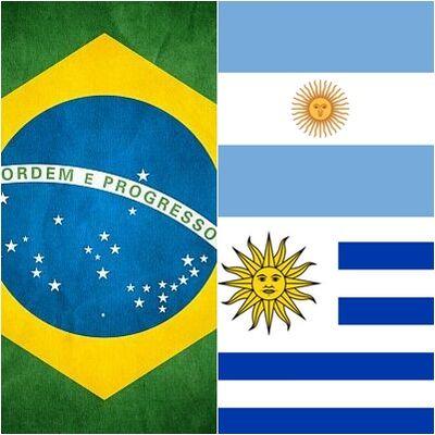 Brasil-argentina-uruguai