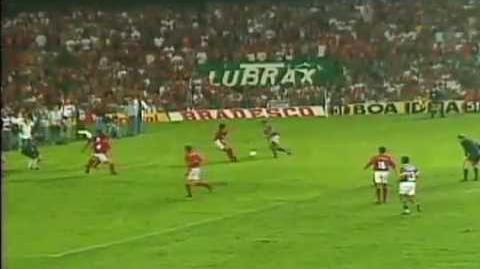Gol de Barriga do Renato Gaúcho
