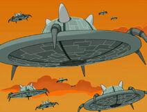 Омикронианские корабли 001