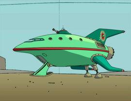 Корабль Planet Express 001