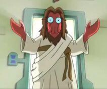 Zoidberg als jesus