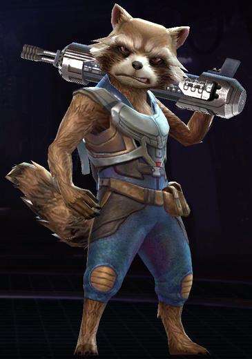 Rocket Raccoon (Guardians of the Galaxy 2)