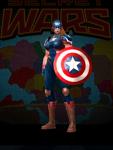 Captain America - Secret Wars 2099 Uniform