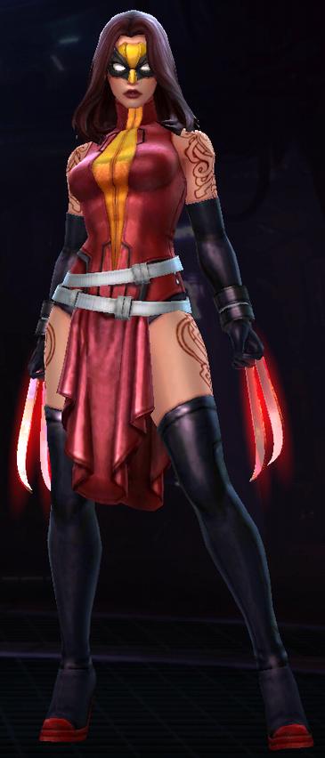 Weapon Hex (Infinity Warp)
