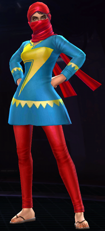 Ms. Marvel -Kamala Khan- (Karachi Costume)