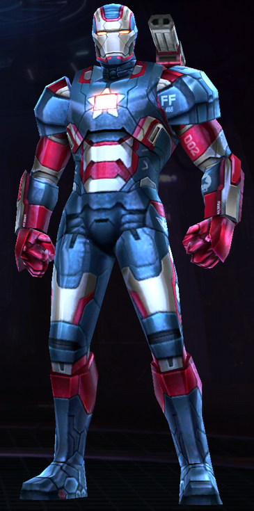 War Machine (Iron Patriot)
