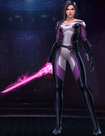 Psylocke (Disassembled)
