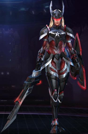 Captain America -Sharon Rogers- (Dark Star Armor)