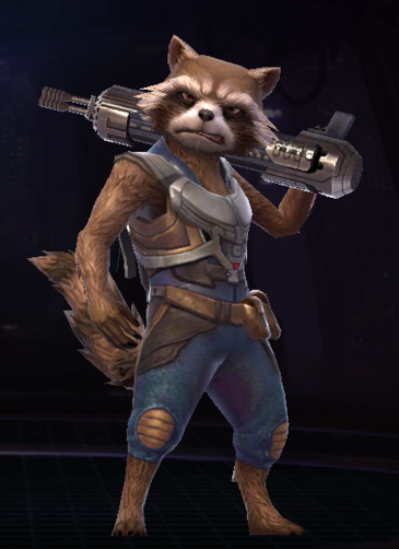 Rocket Raccoon GotG2