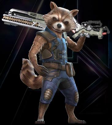 Rocket Raccoon (Marvel's Avengers Infinity War)