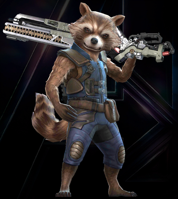 Rocket Raccoon (Marvel's Avengers Infinity War)