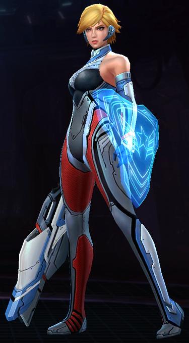 Captain America -Sharon Rogers- (Starlight Armor)