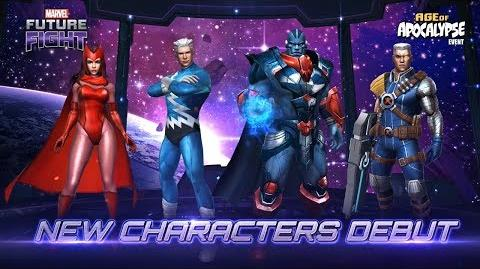 MARVEL Future Fight New Characters & Uniforms are released!