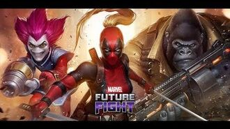 MARVEL Future Fight November Update Lady Deadpool has arrived!