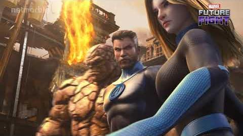 Finally ! The Fantastic Four have joined MARVEL Future Fight!
