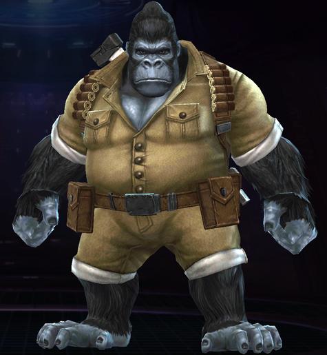 Gorilla-Man (Modern)