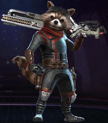 Rocket Raccoon (Marvel's Avengers Endgame)