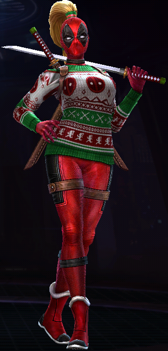 Lady Deadpool (Holiday Party)