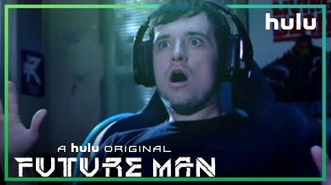 Future Man Trailer (Official) • FutureMan On Hulu • New York Comic Con
