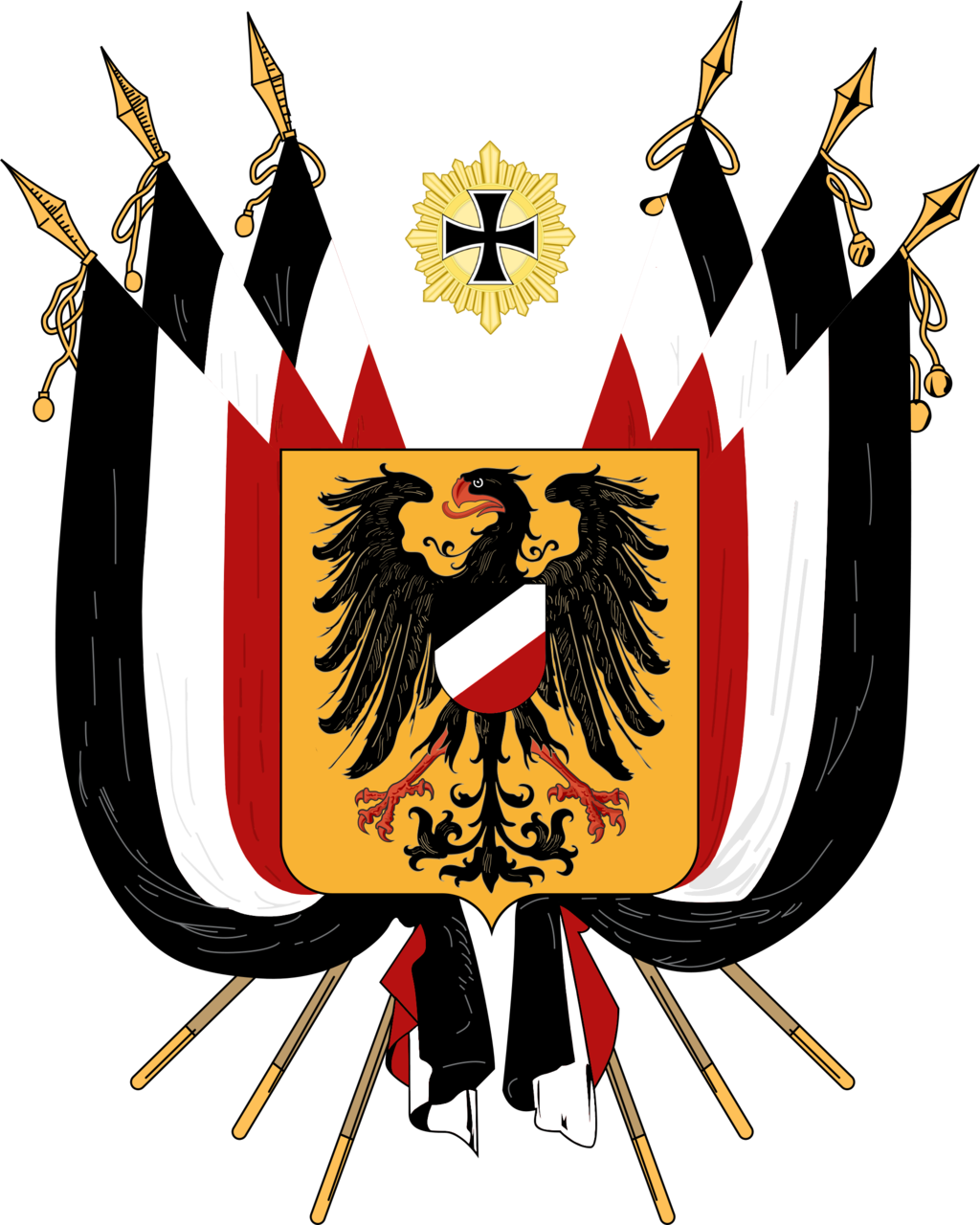 Flag Coat of Arms Germany Discord Map
