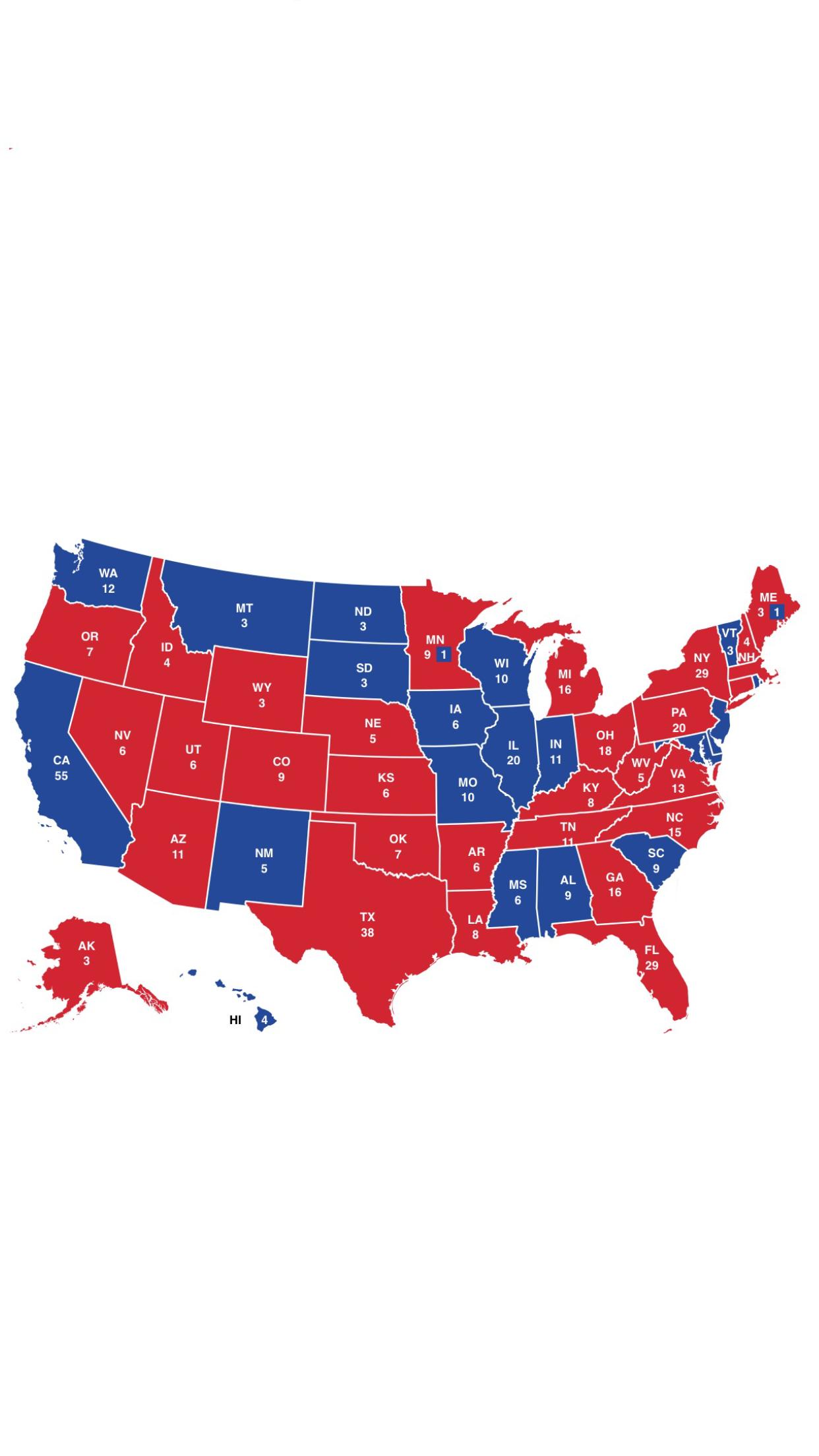 Image United States election 2020 map Future