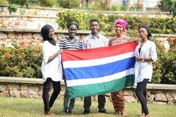 Студенты из Гамбии